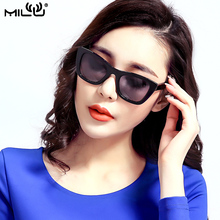 MILU Luxury Brand Logo Sunglasses For Women Polarized Aviator Fishing Driving Goggles Pixel UV400 ML5005