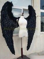 black or white angel wing props catwalk show props festival Angel Feather wings underwear catwalk