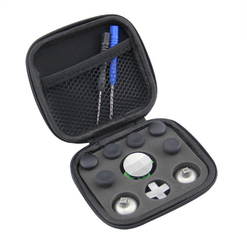 Werkzeugkästen Werkzeuge 11 Teile/satz Swap Thumb Analog Sticks Griffe Stick D-pad Stoßstange Trigger Taste Lagerung Tasche Gamepad Ersatz