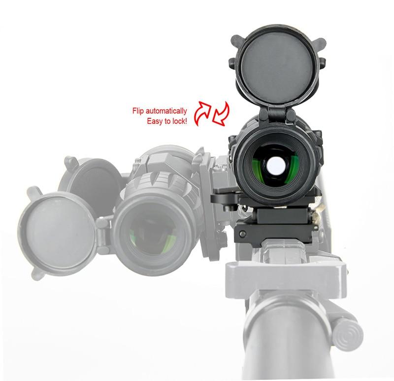 Visor óptico WIPSON Alcance de la lupa 3X Foco de caza compacto - Caza - foto 6