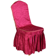 Hotel restaurant universal chair cover, one-piece dining table seat wedding banquet stool cover