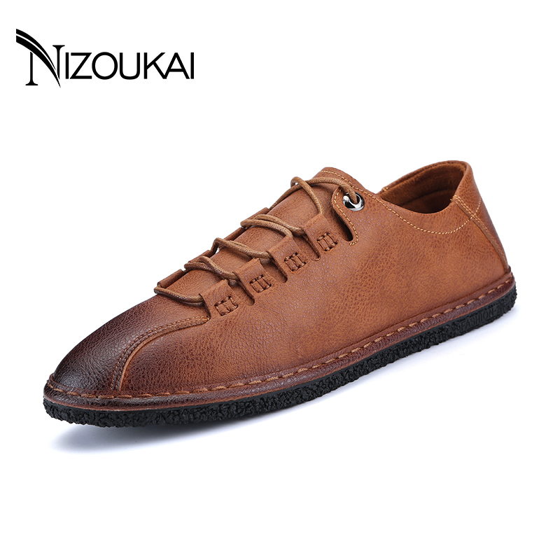 Brand New Men Flats Soft Bottom Leather Comfy Driving Shoes Handmade Summer Slip On Causal Shoes For Man Size Male Shoes Adult new 2016 genuine leather men shoes handmade oxford shoes for men flats slip on men casual shoes free shipping