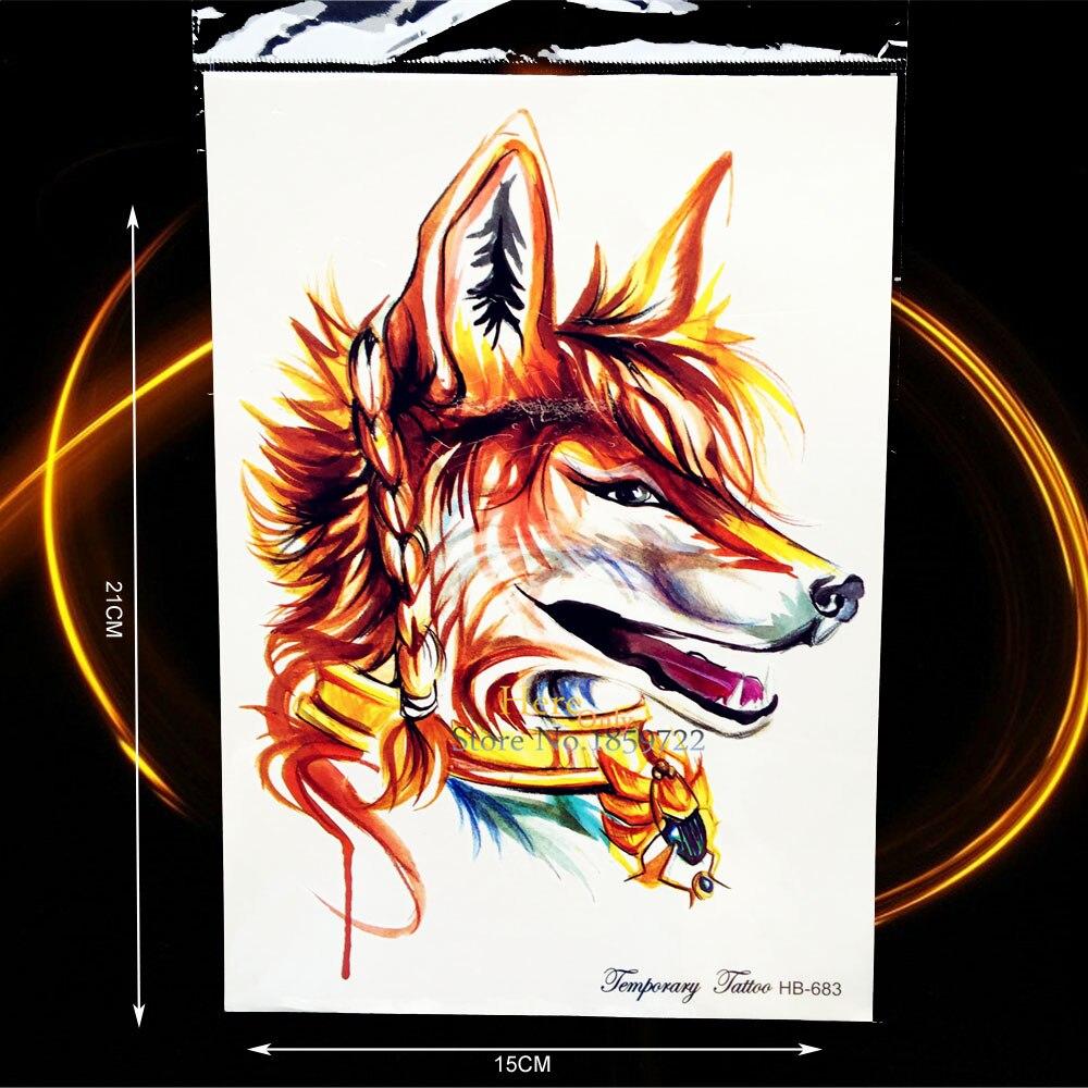 Popular Fox Tattoo Designs-Buy Cheap Fox Tattoo Designs
