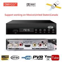 USA/Mexico/Canada/South Korea TV Receiver TERRESTRIAL ATSC TV BOX 1080P HDMI MPEG-4 H.265 ATSC Digital/Analog CONVERTOR RECEIVER