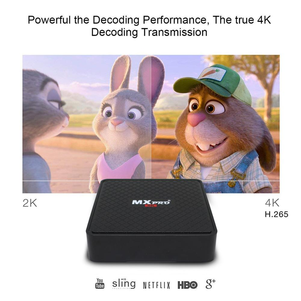 Image 3 - Vmade V96S H3 HD Android TV BOX Android 7,0 caja de TV inteligente Allwinner H3 Quad Core WiFi IP TV twitter Set top box 1GB+8GB-in Set-top Boxes from Consumer Electronics
