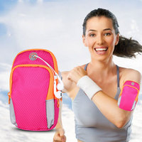 5 6inch Gym Arm Bag Wrist Pouch Exercise Protective Phone Sport Bag Outdoor Waterproof Phone Arm