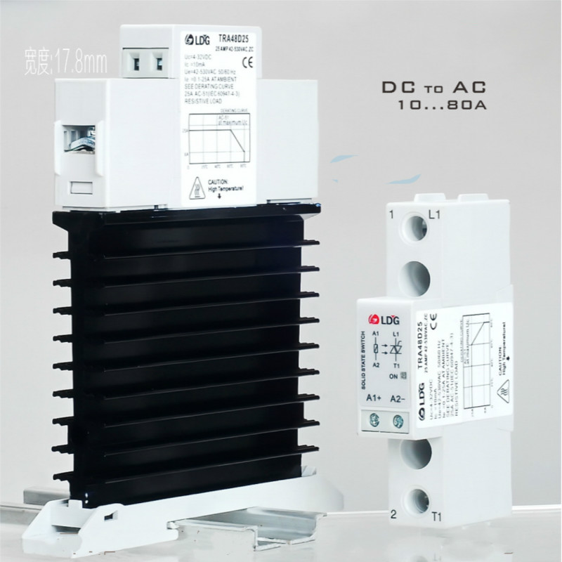 Solid State Relay Module DC Control AC 10A 25A 40A 60A 80A SSR Single Phase