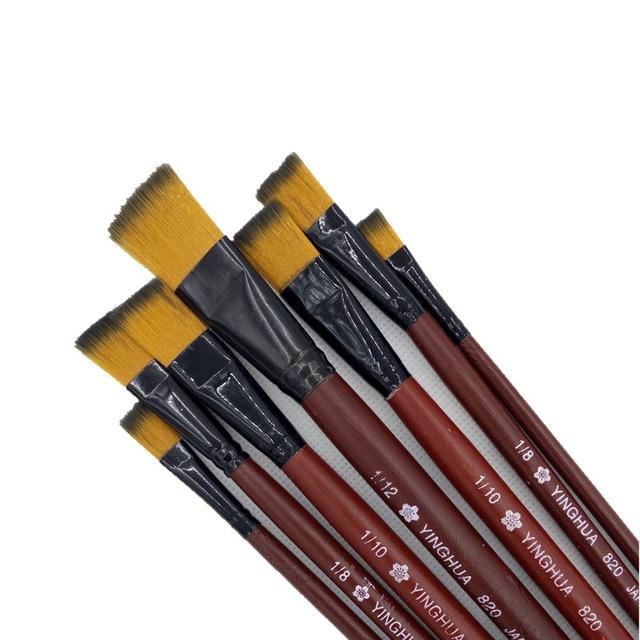 6 teile satz kinder student aquarell gouache malerei stift nylon