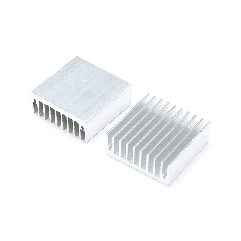 1 pc 454518mm Heatsink Cooler Cooling Fin Aluminum Radiator Heat Sink for LED, Power IC Transistor, Module PBC 45X45X18mm (2)