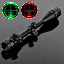 Wholesale 2017 Hot Optical Aiming Rifle Telescopic Scope Outdoor Hunting Rifle scope 6-24×50  Adjustable Mounting Bracket binoculars