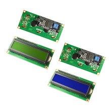 LCD1602 + I2C LCD 1602 Модуль синий/зеленый экран PCF8574 IIC/I2C LCD1602 адаптер пластина для arduino UNO R3 mega25
