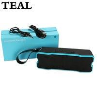 TEAL Portable Bluetooth Speaker Sport Outdoor IPX6 Wireless Waterproof Altavoz Hoparlor Subwoofer Boombox For IPhone Xiaomi