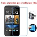 Нано взрывозащищенные (Мягкая Стекло) Ясный Протектор Экрана Передняя Защитная Пленка для HTC Desire 300 Зара мини 301e 301 s