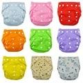 1 шт. многоразовые младенческой ткань пеленки мягких обложках моющиеся свободный размер регулируется Fraldas зима лето версия