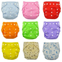 1PCS Reusable Baby Infant Nappy Cloth Diapers Soft Covers Washable Free Size Adjustable Fraldas Winter Summer
