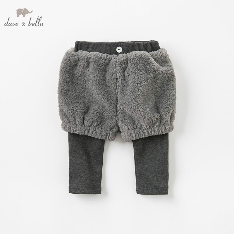 DB9456 dave bella autumn baby girl fashion pants children full length kids pants infant toddler gray trousers dba7845 dave bella autumn baby boys fashion jeans children full length kids denim pants infant toddler trousers