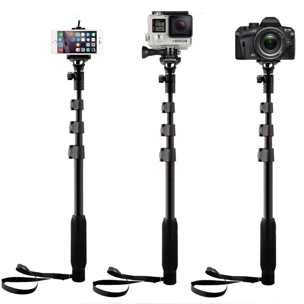 Yunteng 188 Selfie Stick Monopod All Digital Slr Dslr Cameras Mobile Tongsis Wireless Cell Phones Portable Extendable Handheld Telescopic In Tripods From Consumer