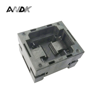 BGA80 OPEN TOP Bruciare in presa passo 1.0mm IC formato 9*11.5mm BGA80 (9*11.5) 1.0 TP05/50N BGA80 VFBGA80 bruciare in programmatore socket-in Connettori da Luci e illuminazione su eMMC socket Store