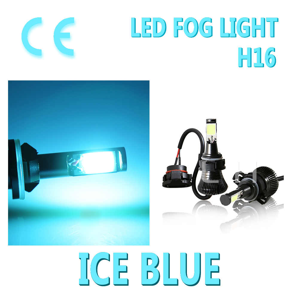 Ice Blue 12V DRL Driving H16 <font><b>5202</b></font> Fog Flash And Stay Light Bulb 5201 PS24W