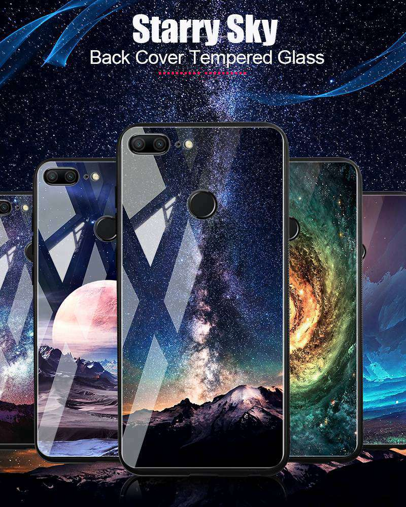 TOMKAS Space Case For Huawei P20 Lite Pro Mate 10 Lite Cases Cover P Smart Glass Coque Phone Case on for Huawei Honor 9 Lite 10 (18)