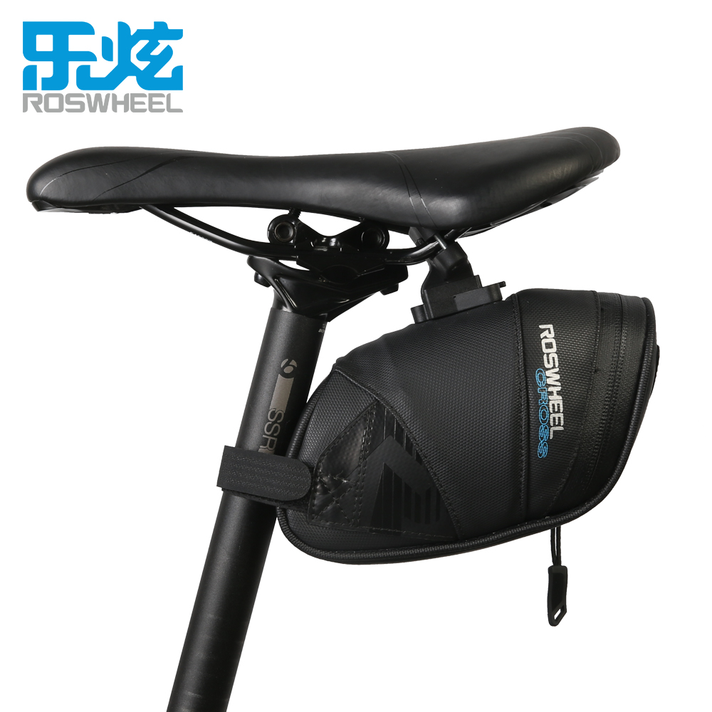 Roswheel font b Bicycle b font Bags1680D Nylon Waterproof Bike font b Saddle b font Rear