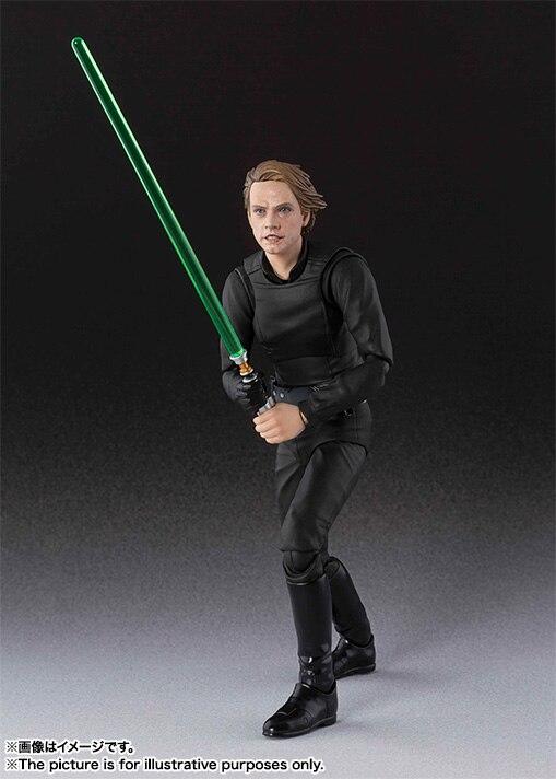 Shfiguarts S. H. figuarts Star Wars Luke Skywalker PVC acción figura juguete modelo coleccionable 15 cm KT4173