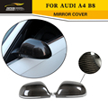 A5 A4 B8 Carbon Fiber Rear Mirror Covers Caps For Audi A4 B8 2008-2009 A5 2007-2009