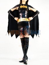 Batgirl Metallic Costume female halloween cosplay batman superhero costumes zentai suits the most popular