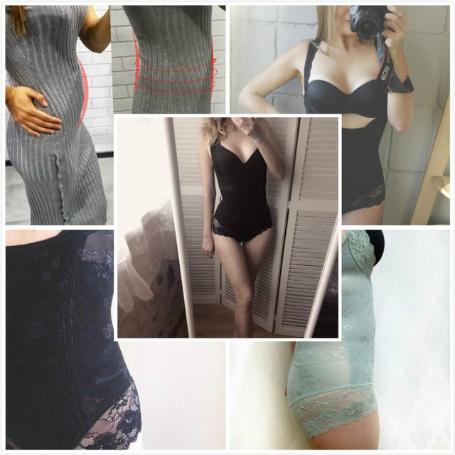 Miss Moly Women Full Body Shaper Waist Reducer Trainer Tummy Slimming Control Panty Butt Lifter Briefs Push Up Shapewear Corset 2