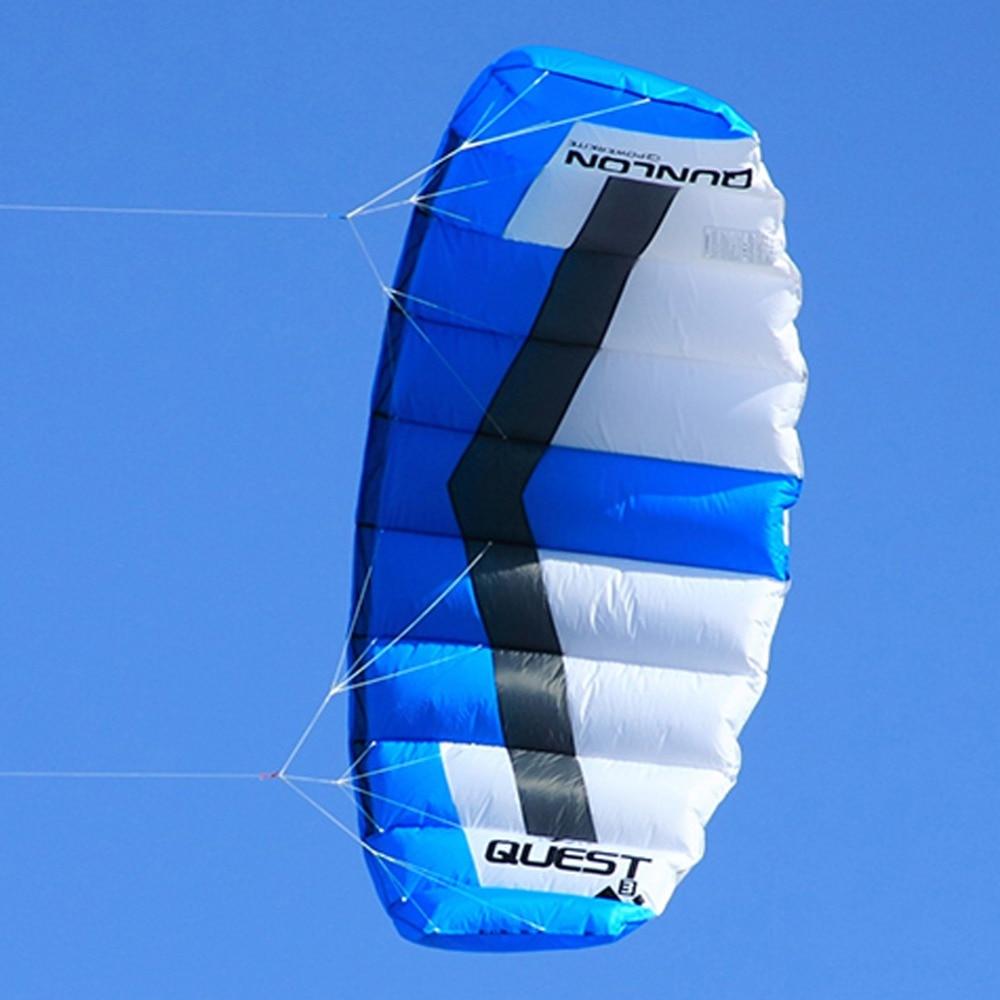 Dual Line Power Kite 2 metros cuadrados Easy Flying Traction Kite - Deportes y aire libre - foto 4