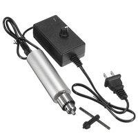 Doersupp 1PC 6V 24V Mini Electric Drill DIY 385 DC Motor W JT0 Chuck 24V Power