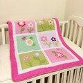 100% algodón bebé edredón manta de bebé mantas jacquard bedding infantil kindergarten animal flower girls deken cheque pls stcok