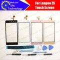 Leagoo Z5 Pantalla Táctil Digitalizador 100% de Garantía Original Del Panel Táctil de Cristal Digitalizador de Pantalla Para Z5 + herramientas + Adhesivo