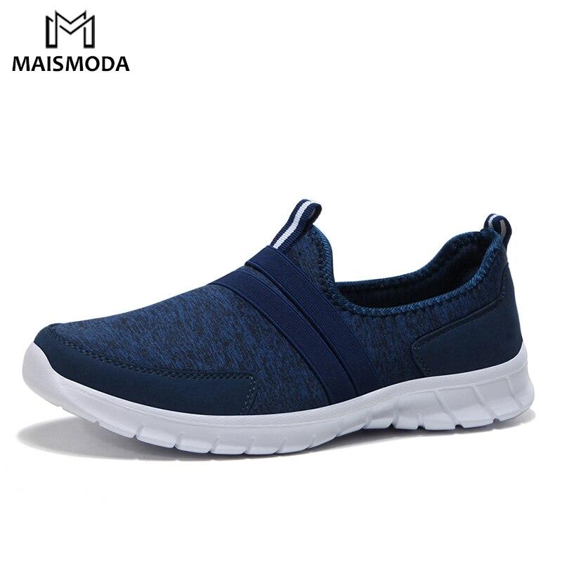 cfbed711 MAISMODA zapatos casuales de los hombres zapatillas de deporte de verano de malla  transpirable mocasines cómodos zapatos de calzado pisos ligero zapatos de  ...