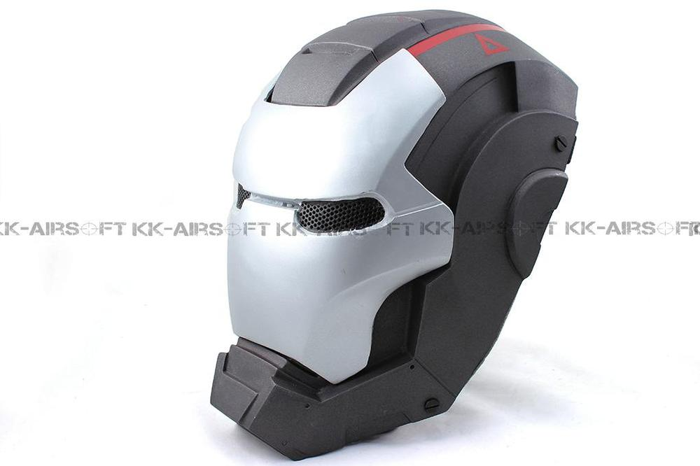 Paintball Party Mask Airsoft Wire Mesh Iron Man 2 Full Face Mask Bd8874a