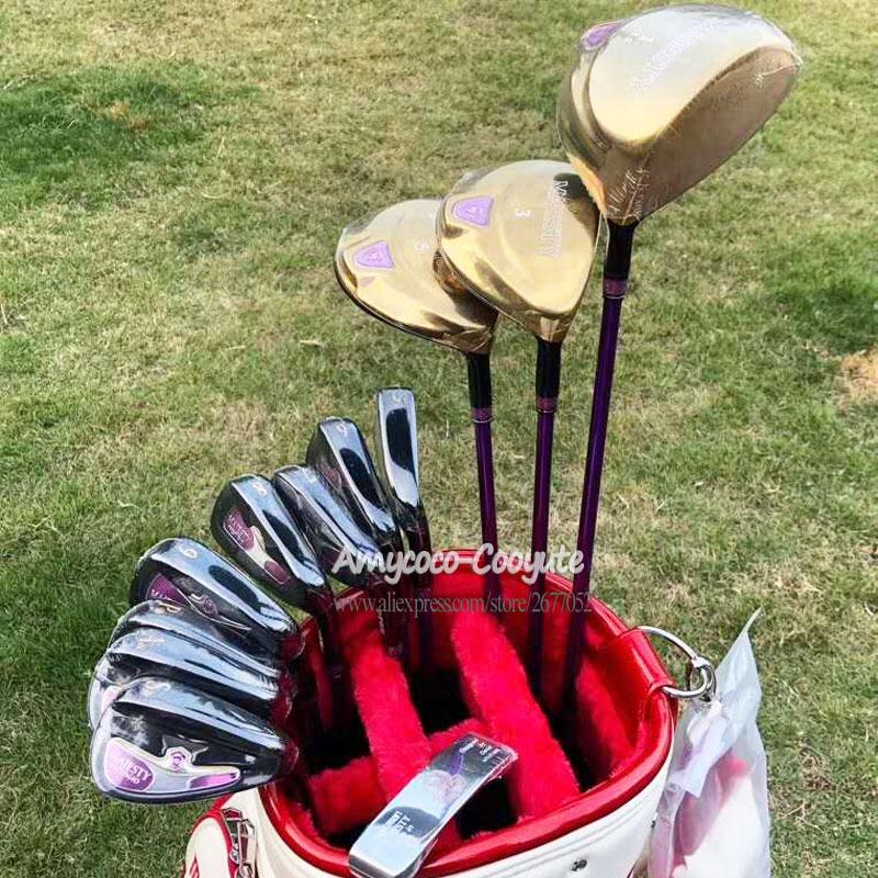 Nouvelles femmes Golf Clubs Maruman Majesté Clubs Ensembles Complets Golf Conduire Fairway bois fers et Graphite arbre De Golf