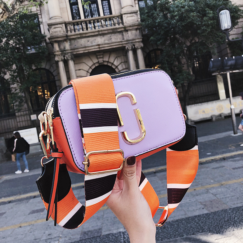 Image 4 - Summer Small Bag Girl Woman Luxury Handbags Women Bags Designer 2018 New Korean Style Camera Shoulder Bags Brand Messenger Bag-in Shoulder Bags from Luggage & Bags
