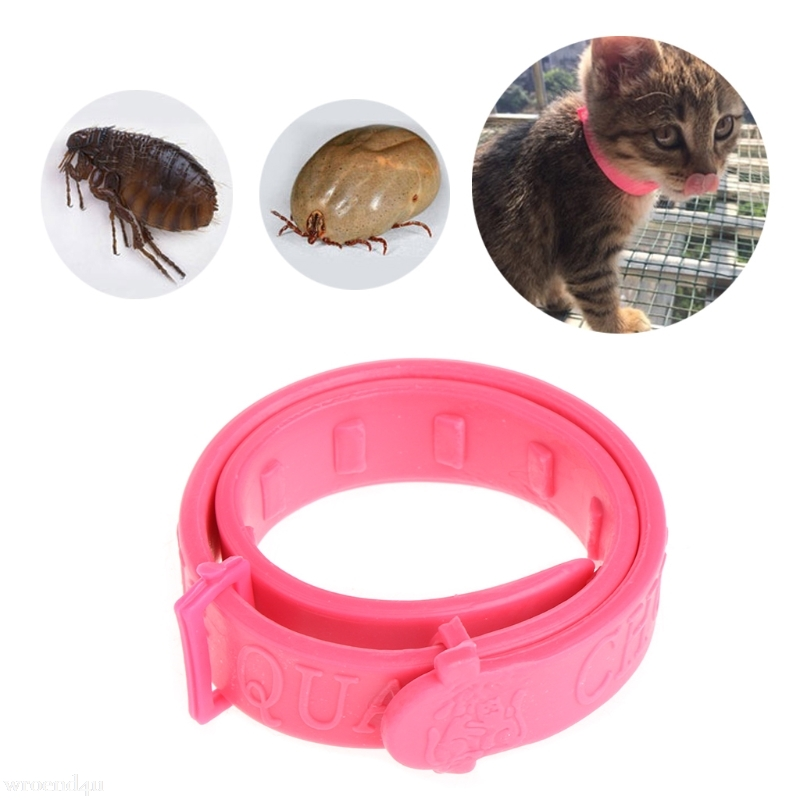 Adjustable Dog Cat Rabbit Neck Strap Kitten Acari Neck Strap Anti Flea Mite Tick Adjustable Collar 繪 本