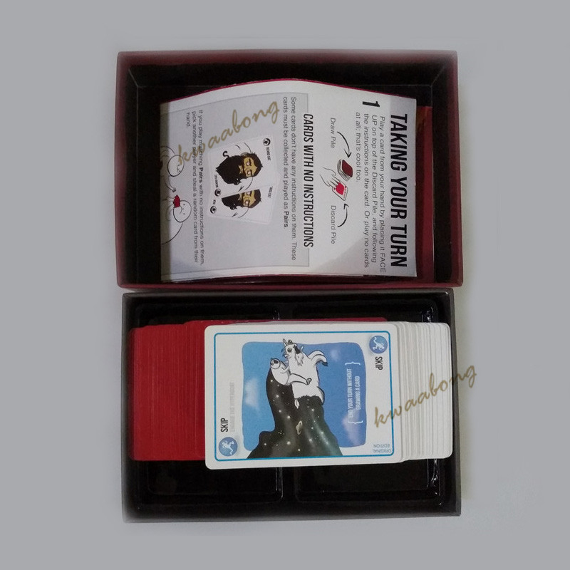 Card Games Explode Cards For Kitten Original Edition, NSFW Edition, Expansion For Party Board Game As Gift