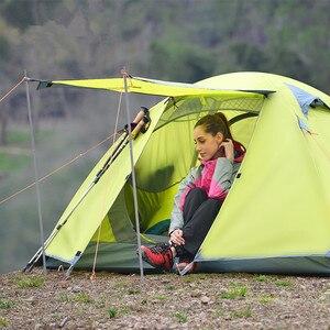 Image 5 - Accessoires de tente fer tente pôle tente tige auvent tige Stand pôle Camping accessoires tente extensible porte cadre canopée tige 115 cm * 2