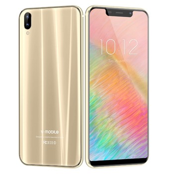 "TEENO Vmobile XS pro telephone portable debloque francais Android 7.0 3 GB RAM 32 GB ROM 5.84 ""Plein Écran 19:9 13MP Caméra double Sim Quad Core Smartphone"