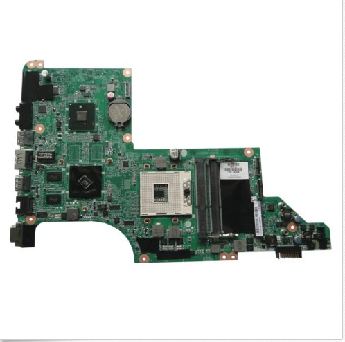 Free shipping 609787-001 for HP pavilion DV7 DV7T DV7-4000 laptop motherboard with for Intel hm55 chipset 5470/512m 45 days warranty for hp dv7 dv7 4000 615686 001 laptop motherboard 5470 512 non integrated graphics card 100% fully tested