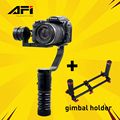 AFI gimbal VS-3SD 3 Axis Handheld Brushless Stabilizer Gimbal for Canon Nikon DSLR Camera Support Weight 1.7 KG PK Beholder DS1