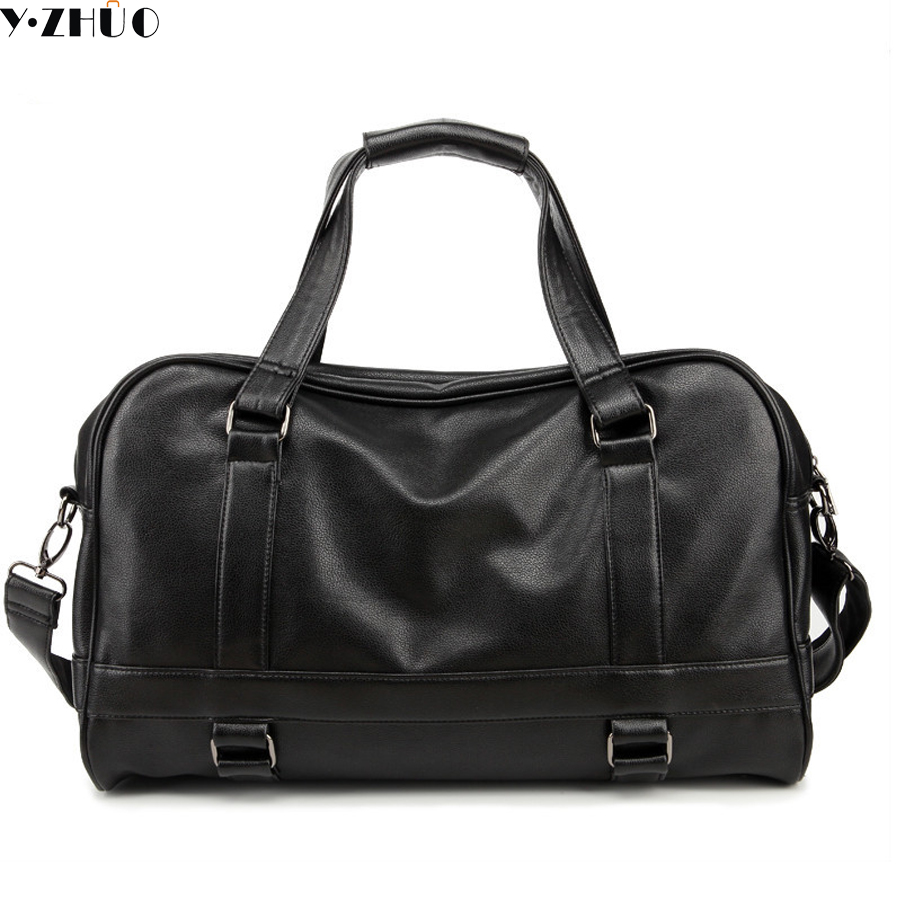 free shipping fashion good quality leather man travel duffel bags hot sale Bolsa Masculina handbags tote crossbody bags for male hot sale good quality inductive