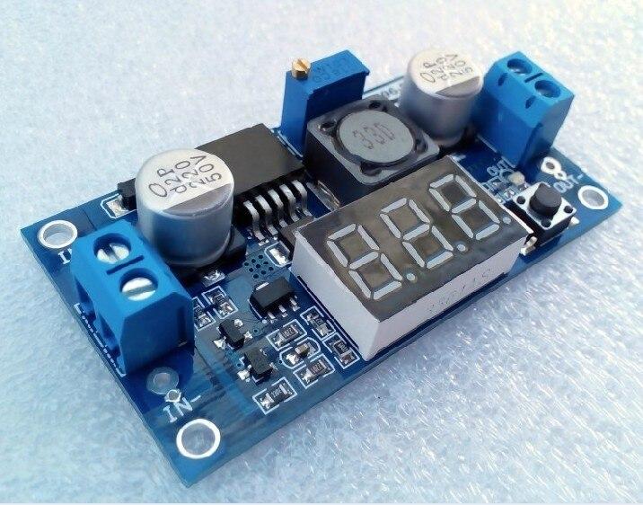 Бесплатная доставка DC-DC Регулируемый регулируется питания модуль LM2596 стабилизации напряжения модуль