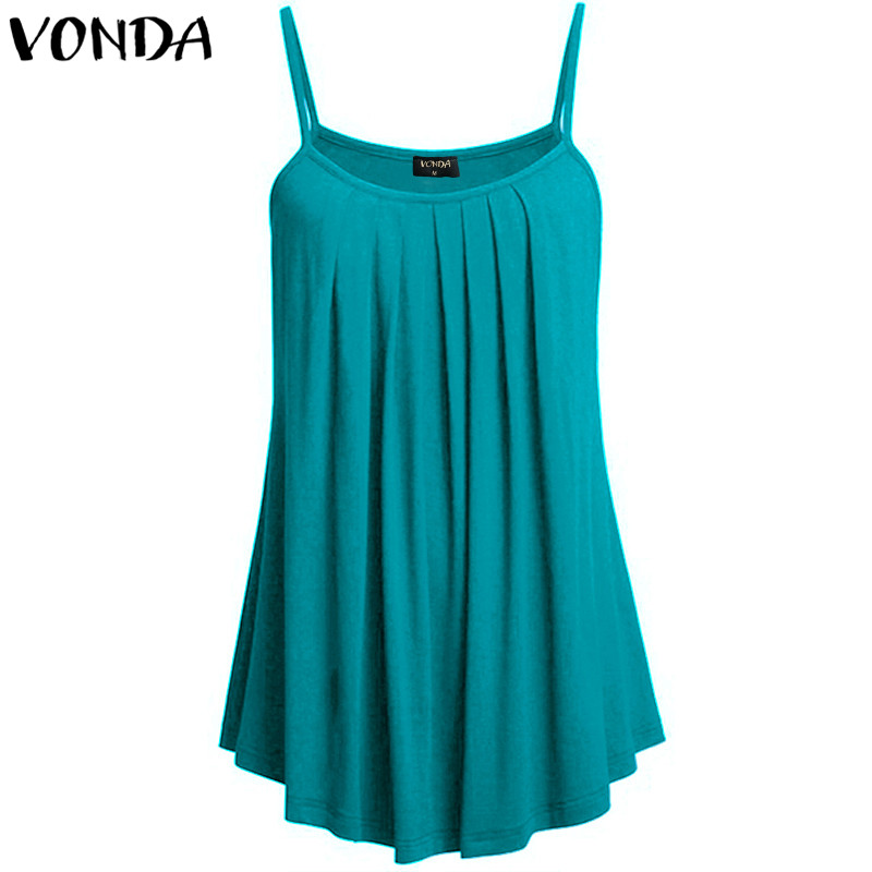 2018 New Summer Women Sexy Off Shoulder Casual Loose Backless Camisole Ladies Solid Color   Tank     Tops   Plus Size M-5XL