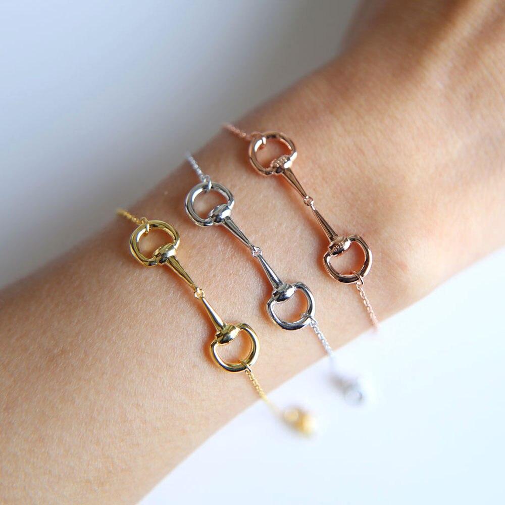 Bracelets & Bangles Jewelry & Accessories Beautiful Fashion Bracelet Horse Hoof Jewelry For Women Simple Personalized Bracelets Top Watermelons