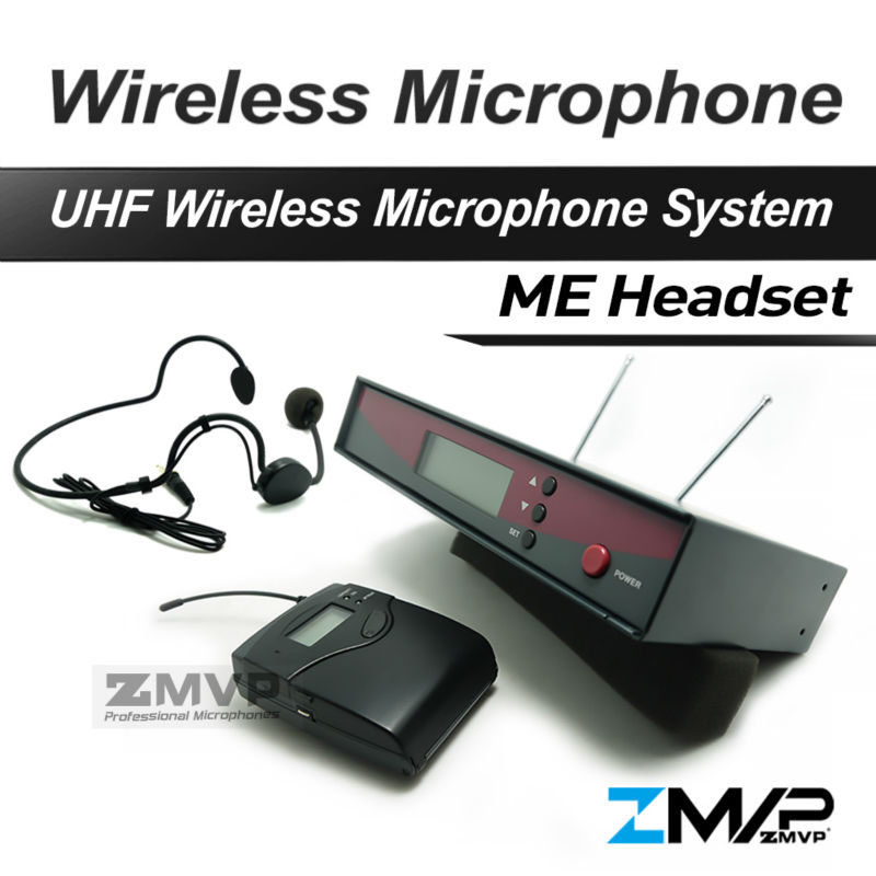 Free Shipping!! 122 G2 Professional UHF Wireless Microphone Wireless System With BodyPack Transmitter Headset Mic free shipping uhf professional sx 14 wireless microphone system with bodypack headset microphone band j3 572 596mhz
