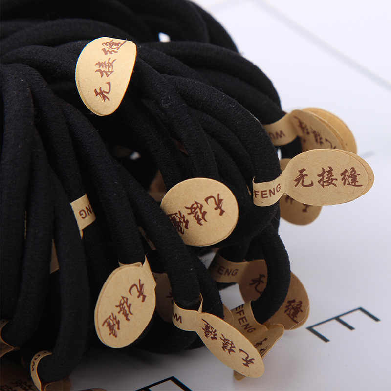 髪のロープとロープ韓国語バージョンの宝石高弾性シームレス厚い革バンドヘア包装