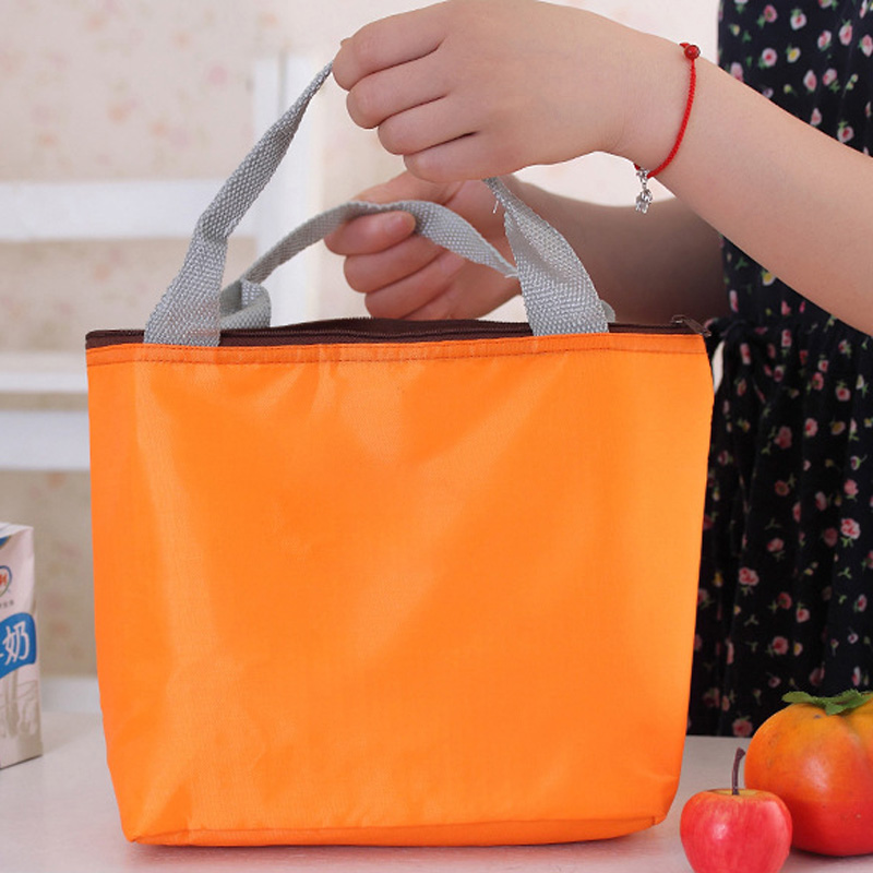Nylon Lunch Bag Thermal Bolsa Termica Sac Lunch Isotherme Waterproof Cooler Bag Storage Bento Bag Clutch Top-Handle Casual Tote high quality insulated lunch bag waterproof lunch thermal cooler bag carry storage picnic bag pouch lunch bags bolsa termica
